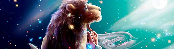 leão e mulher